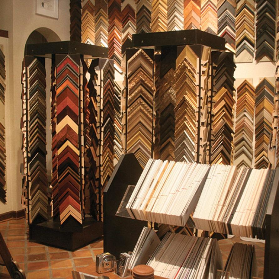 Custom Framing - Lawrence Interiors